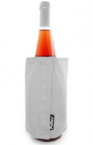 Охладител Pulltex за вино и шампанско черно/сиво / Cooler Pulltex Wine&Cham bag grey/black 107723