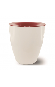 Плювалник Pulltex Burgundy бял / Spittoon Pulltex Burgundy white 104517