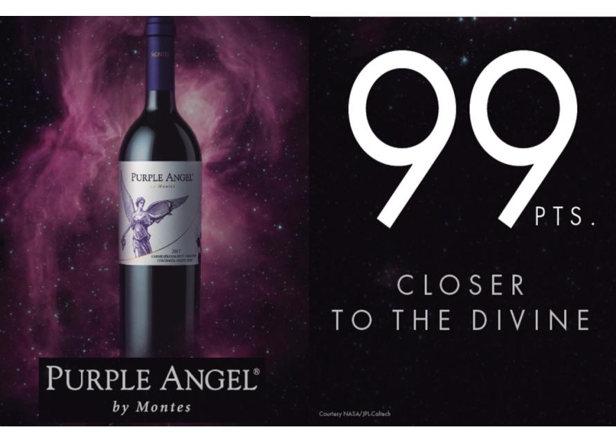 Монтес Purple Angel още по-близо до божественото