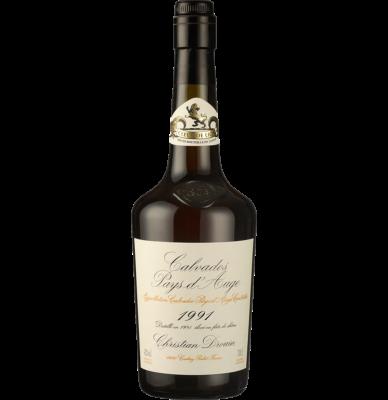 Калвадос Кристиан Дроан Милезим 1991 / Calvados Christian Drouin Millesime