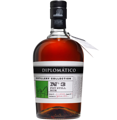 Дипломатико Пот Стил Номер 3 / Ron Diplomatico Pot Still Rum No3