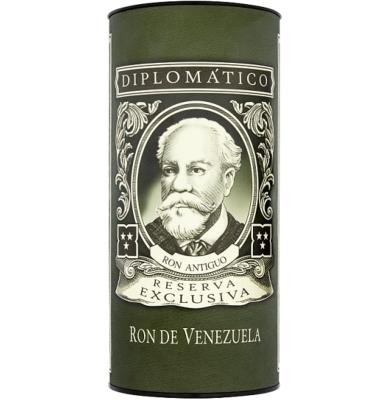 Дипломатико Резерва Ексклузива канистър / Ron Diplomatico Reserva Exclusiva (canister)