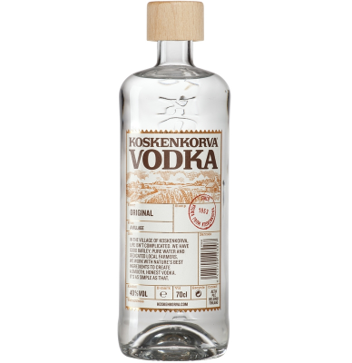 Водка Коскенкорва Оригинал / Koskenkorva Vodka Original